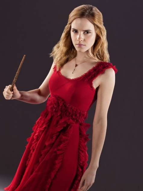 Emma Watson Harry Potter And The Deathly Hallows Part 2 Premiere Dress Harry Potter 7 : 13 ph...