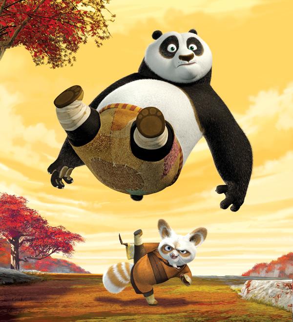 Kung Fu Panda 2 : un extrait en français cela ne se refuse pas !
