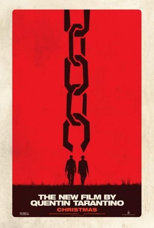 Django unchained affiche stylis e mais minimaliste pour for Affiche minimaliste