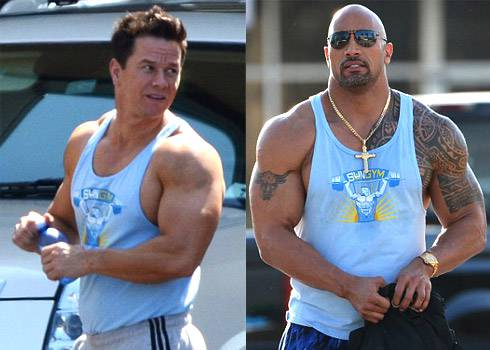Pain And Gain Mark Wahlberg And The Rock
