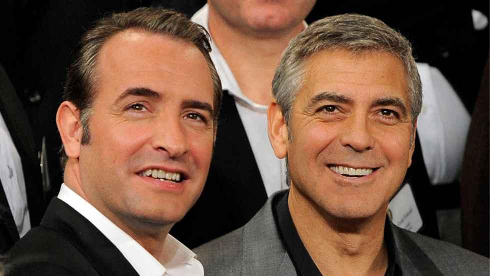 Jean dujardin l 39 acteur fran ais aux c t s de george for Cinema jean dujardin