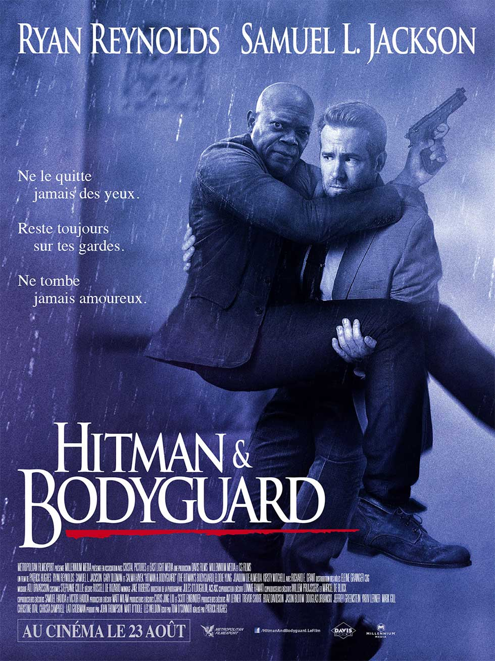 affiche du film <em>Hitman And Bodyguard</em>